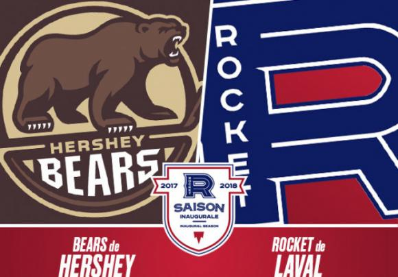 Hershey Bears vs. Laval Rocket at Giant Center