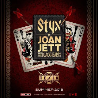 Styx, Joan Jett, The Blackhearts & Tesla at Giant Center