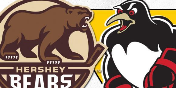 Hershey Bears vs. Wilkes-Barre Scranton Penguins at Giant Center