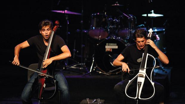 2Cellos at Giant Center