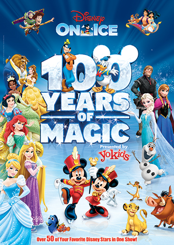 Disney On Ice: 100 Years of Magic at Giant Center