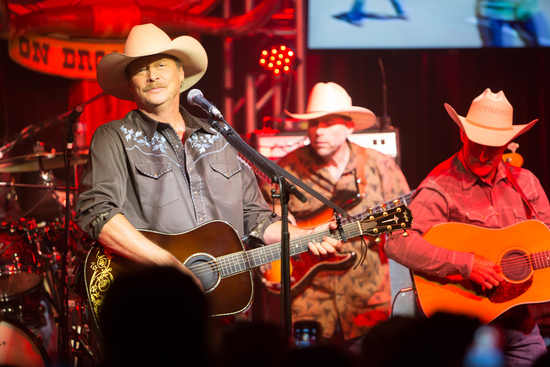 Alan Jackson at Giant Center