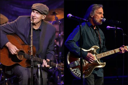 James Taylor & Jackson Browne at Giant Center