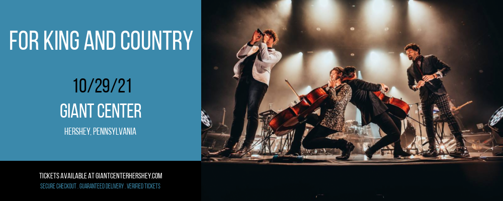For King and Country at Giant Center